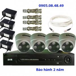 Khuyến mãi bộ 4 camera AHD puratech
