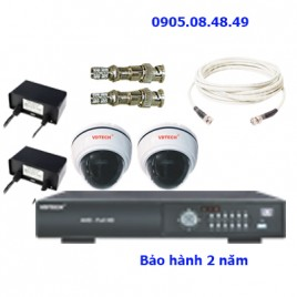 Khuyễn mãi bộ 2 camera AHD Vdtech
