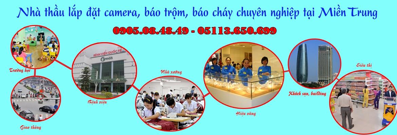 Lắp đặt camera chuyên nghiệp Đà Nẵng